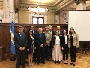 Homenaje a Alfonsín en la Auditoría General de la Nación