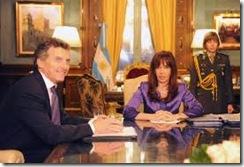 toto de macri y cristina